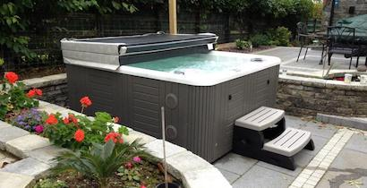 Hot Tub Covers, marine grade vinyl, made in Mississagua Ontario